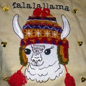 Other - NWT Great llama Christmas sweater!